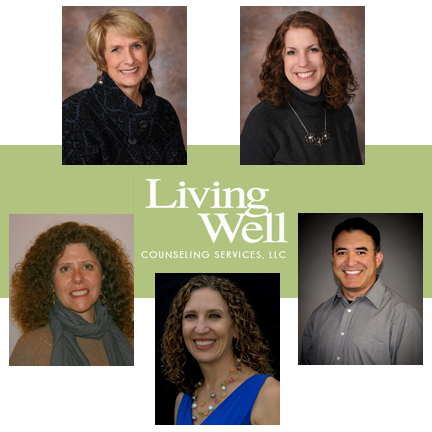 Living Well Staff - Lori, Debbie, Rick, Kelle, and Carolyn