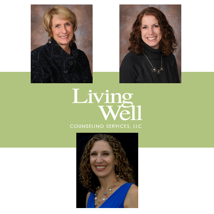 Living Well Staff - Lori, Debbie, and Carolyn